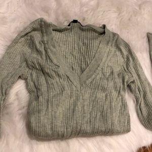 Seafoam green Gap sweater size small